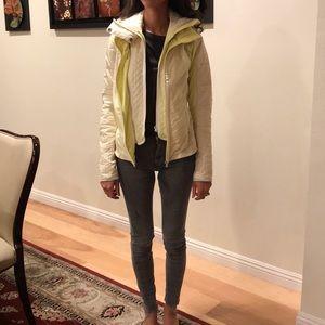 Lululemon puffer warm fleece jacket